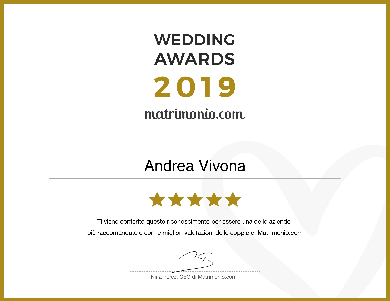 Andrea Vivona - Wedding_Awards_2019